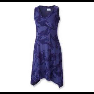 Columbia 💜💜  high low purple black dress medium